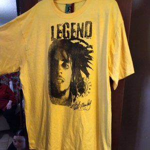 """Authentic """"Zion"""" Bob Marley T-shirt"""